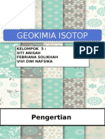 geokimia isotop