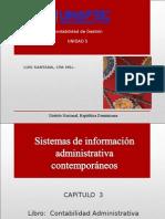contabilidad de gestion, Materia de La Unidad 5