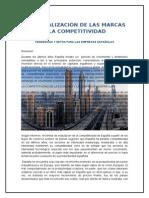 LA GLOBALIZACIÓN DE LAS MARCAS Y LA COMPETITIVIDAD