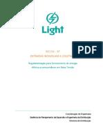 Light Regulamentação para fornecimento de energia elétrica Abril 2015