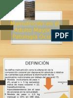 Malnutricion y Patología Ocular en El Adulto Mayor
