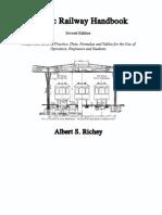 Electric Railway Handbook Ric Hey