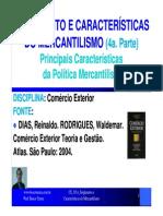 CE 05.4 Surgimento e Caracteristicas Do Mercantilismo