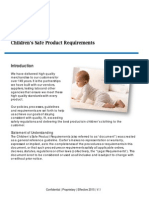 Childrens Safe Product Requirements - 4 10 2015