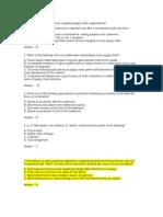 CSCP General Questions - 2
