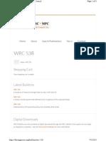 WRC 538 Bulletin Forengineers.org