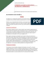 Caracteristicas Basicas Del Diodo Semiconductor(Silicio - Germanio )