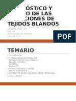 Diagnóstico y Manejo de Las Infecciones de Tejidos Blandos