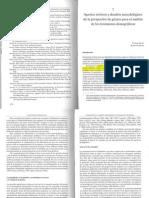 Aportes teóricos y desafíos metodológicos de la perspectiva de género para el análisis de los fenómenos demográficos