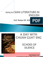 Malaysian Literature in English[1]