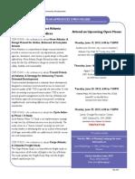 2015 June Connect ATL Plan Appendices Open House Flyer