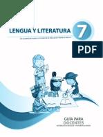 Guia Del Docente Literatura 7mo