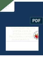 Instalación de Una Planta Para La Producción de Floculantes - Copia