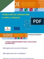 Formulaire de Candidature 2ª Appel À Projets