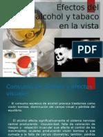 Efectos Del Alcohol y Tabaco en La Visión