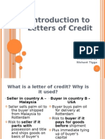 Letter of Credits