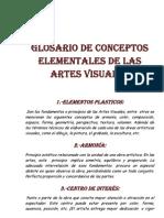 Glosario de Conceptos Elementales de Las Artes Visuales