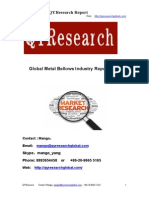 Global Metal Bellows Industry Report 2015