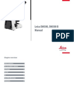 Leica DM-500 Microscope - User Manual