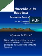 Conceptos Generales de Ética y Bioética