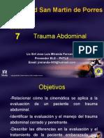 7.- Trauma Abdominal