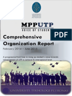 SRCUTP 2014/15 Comprehensive Organizational Report