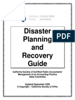 DRP Disaster Planning and Recovery Guide 2005
