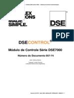 DSE7xxx Series Operators Manual Portuguese