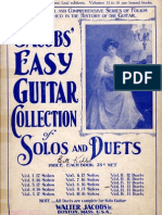 Walter Jacobs Easy Guitar Duets-Vol 12