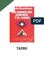 Los Signos del Zodiaco y el amor - TAURO