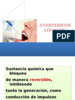 Sesion 8. Anestesicos Locales