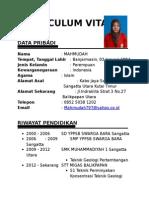 Curriculum Vitae Kp Mahmudah
