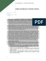 (538473009) Cercetarea Evaluativa Mai 2014