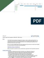 Gantt-chart template