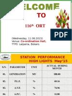 Agenda of ORT- 116.ppt