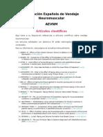 Artículos Asociación Española de Vendaje Neuromuscular