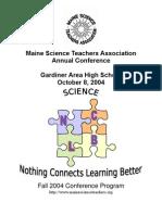 MSTA 2004 Conference Program