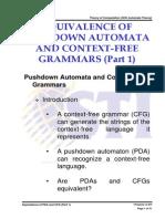MELJUN CORTES Automata Lecture Equivalence of Pda and Cfg Part 1 2
