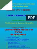Morfología de las Cuencas