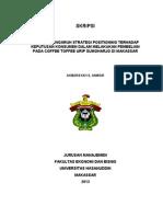Akbarsyah S. Anwar (A21108105) - Analisis Pengaruh Strategi Positioning Terhadap Keputusan Konsumen Dalam Melakukan Pembelian Pada Coffee Toffee Urip Sumoharjo Di Makassar