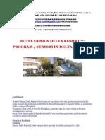 Hotel Genius Delta Resort - Program Seniori