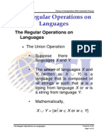 MELJUN CORTES Automata Lecture the Regular Operations on Languages 1