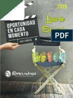 03_2015-01 Promociones y Flash - La Oportunidad en Cada Momento