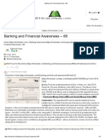 Banking and Financial Awareness – 88