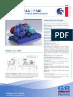 PMB-V4A-Horizontal Belt Drive (Motor Right)