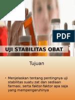 Uji Stabilitas Obat