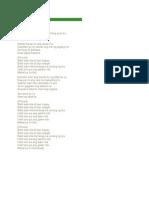 Lyrics of Bakit Sabi Nila