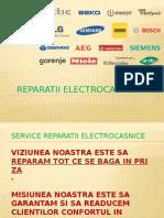Reparatii electrocasnice iasi