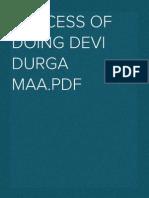 PROCESS OF DOING DEVI DURGA  MAA'S  PUJA.pdf