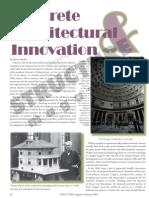 Concrete Architectural Inovation